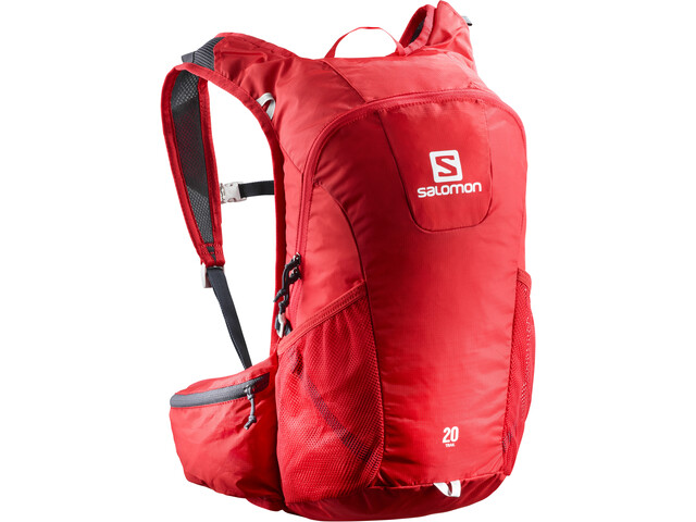 Salomon Trail 20 Drinkrugzak rood
